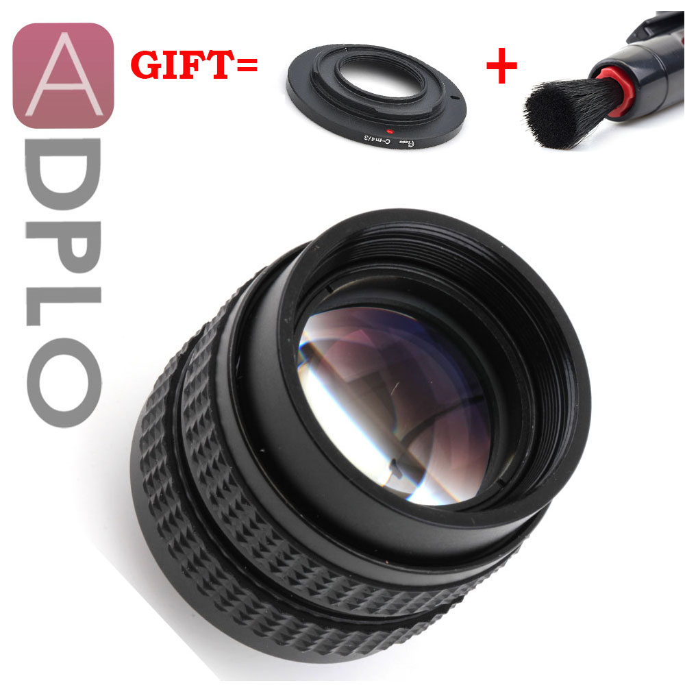 ADPLO 50mm f 1 4 CC TV F1 4 Lens 3 Gift Suit For Canon EOS