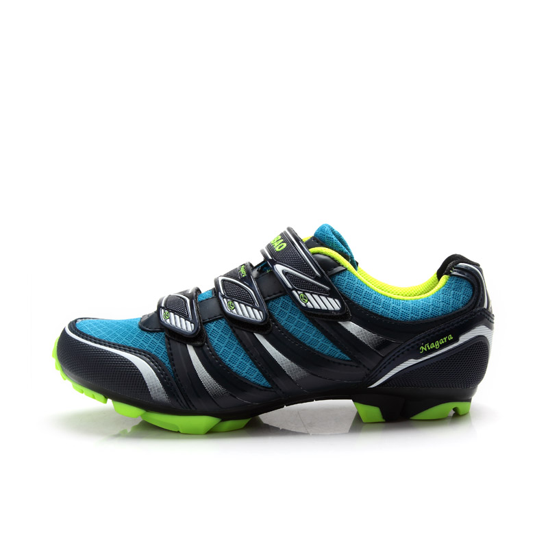 buy tiebao 5 1428 hot sale mtb cycling shoes color black and blue outdoor. Black Bedroom Furniture Sets. Home Design Ideas