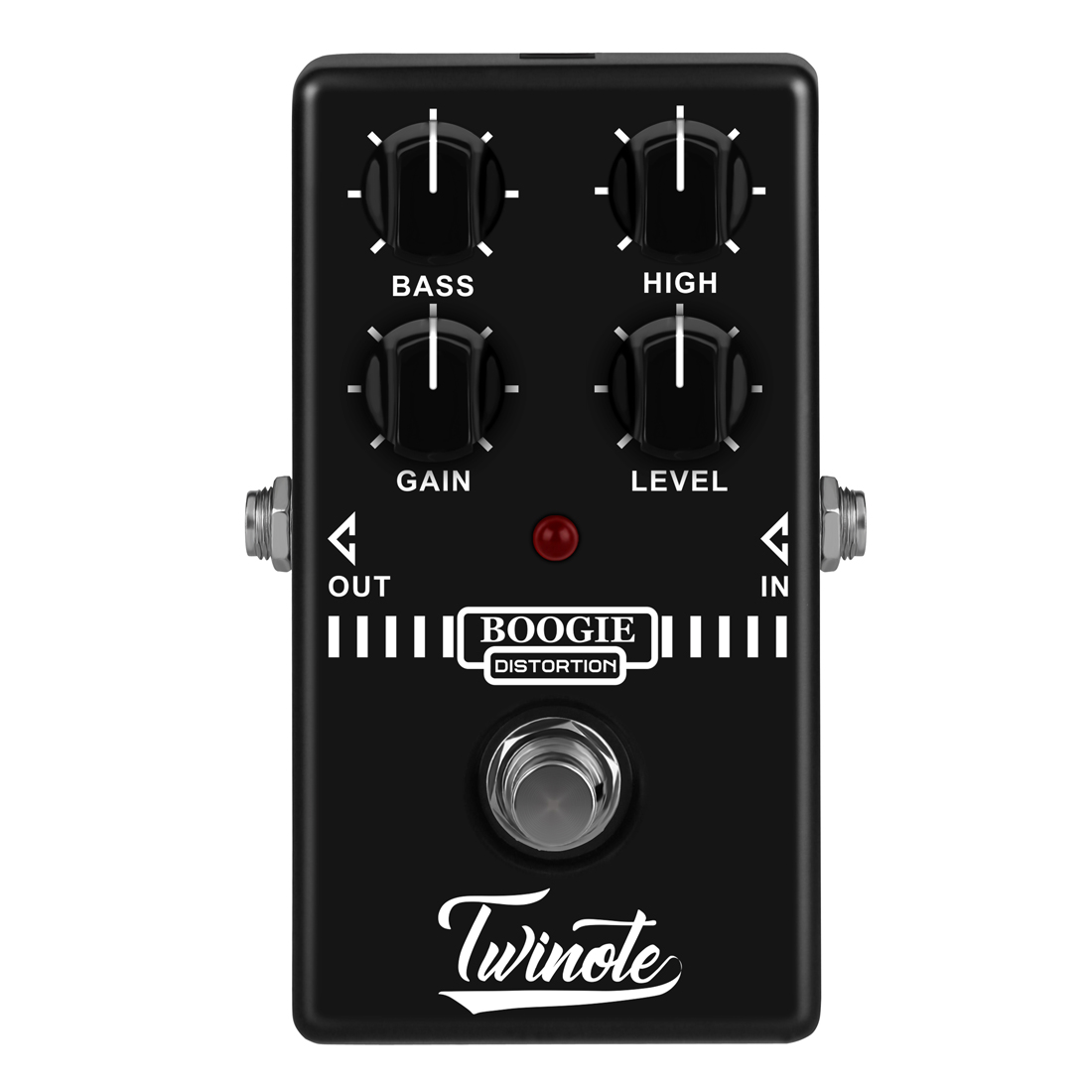 Twinote Old School Distortion Effects Pedal Effect Processor for Electric Guitar - Boogie Dist Type twinote boogie dist mini guitar pedal old school distortion tone synthesizer for mesa boogie guitar effect pedal