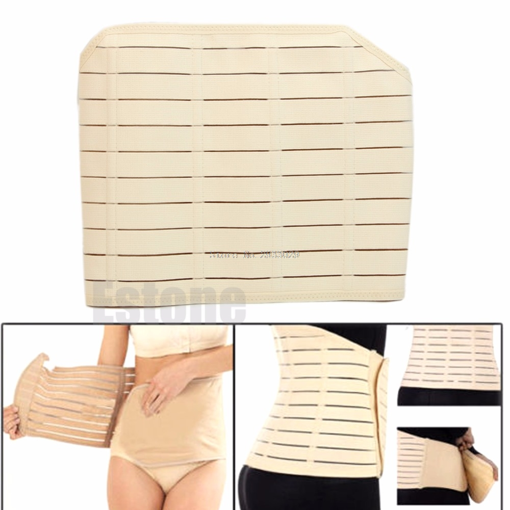 Natal Shaper Support Band Belly Waist Tummy Postpartum Recovery Slimming Belt -B116