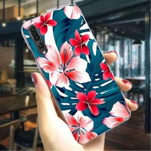 Leaves Flower Hard Cover for Huawei Honor 9i Colorful Phone Case  Back Cases