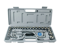 32 Pc Spanner Socket Set 1 2 1 4 3 8 Car Motor Repair Tool Ratchet
