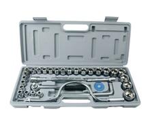 цена на 32 pc Spanner Socket Set 1/2 1/4 3/8 Car motor Repair Tool Ratchet Wrench Set Cr-v hand tools Combination Bit Set Tool Kit