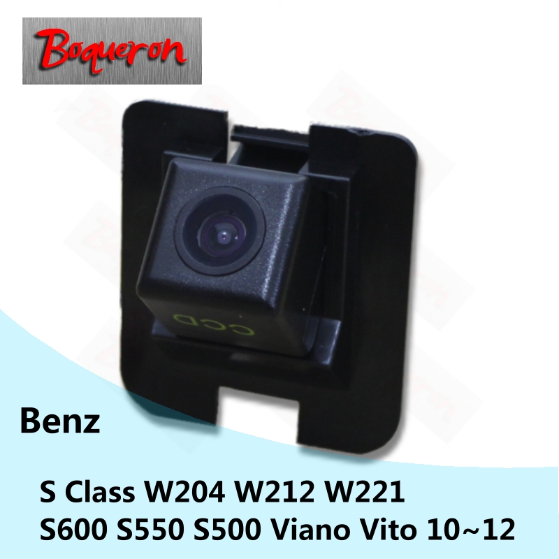 for Mercedes Benz S Class W204 W212 W221 Viano Vito S600 S550 S500 Car Rear View Camera HD CCD Backup Reverse Parking Camera Mercedes-Benz A-класс