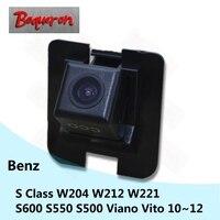 Para Mercedes Benz S Classe W204 W212 W221 S600 Viano Vito S550 S500 Câmera de Visão Traseira Do Carro CCD HD De Backup Estacionamento Reverso câmera|rear view camera|ccd hd|car rear reverse camera -