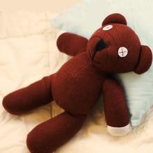 23CM Mr Bean Teddy Bear Animal Stuffed Plush Toy Brown Figure Doll For Child Birthday Gift Toys