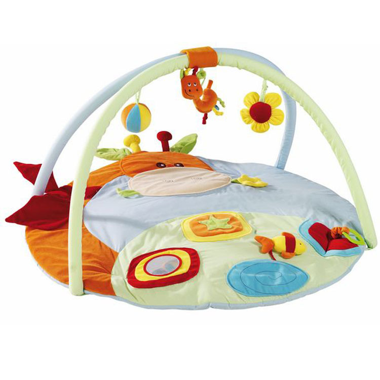 ФОТО 2017 Hot BE* Germany babyline original baby toy trade game pad baby climbing gym mat baby rattles cribs