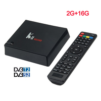 K2 PRO Dvb T2 S2 Android 5 1 4K Smart TV Box 2G 16G Amlogic S905