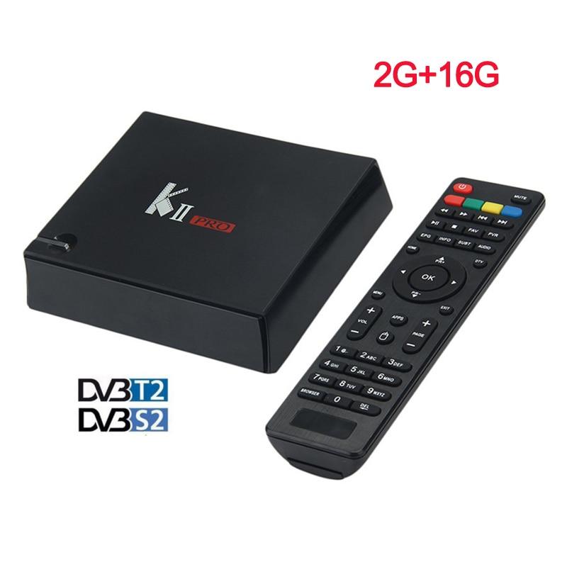 K2 PRO Dvb T2 S2 Android 5.1 4K Smart TV Box 2G/16G Amlogic S905 Quad-Core IPTV DVB-S2/T2 KII PRO Set Top Box Satellite Receiver 10pcs kii pro 2gb 16gb dvb s2 t2 5 1 android tv box amlogic s905 quad core support dvb s2 dvb t2 smart media player