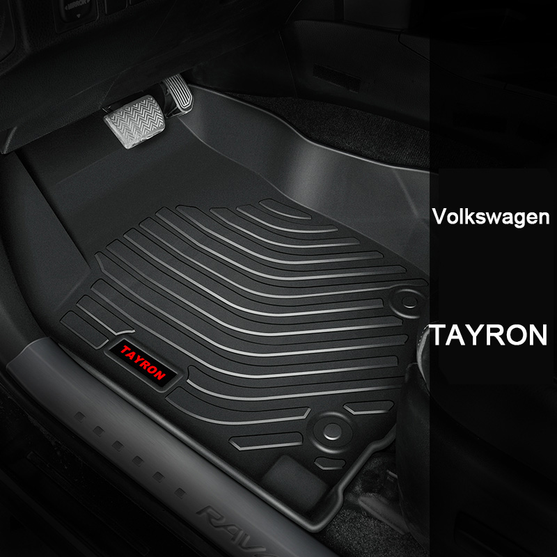 Interior Accessories Honest Custom Car Floor Mats For Volkswagen Tayron 2019 Years Model Waterproof Anti-dirty Floor Mats For Cars Elegant And Graceful