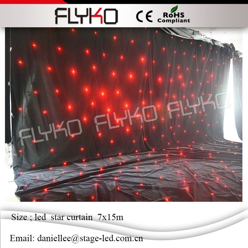 LED star curtain 53211