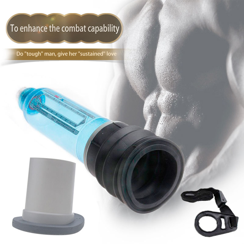Newest Hydrotherapy X30 Penis Pump With Long Silicone Pad! Penis Enlargement Water Spa Penis Extender Like Proextender LY019