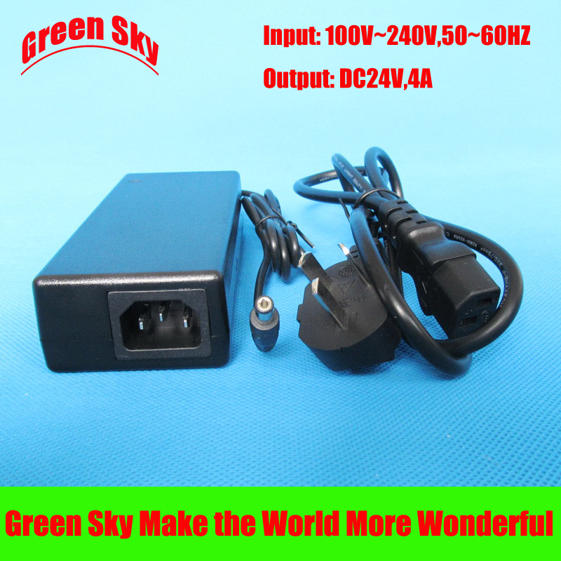 100V-240V AC input DC 24V output 4A 24v power adapter100V-240V AC input DC 24V output 4A 24v power adapter