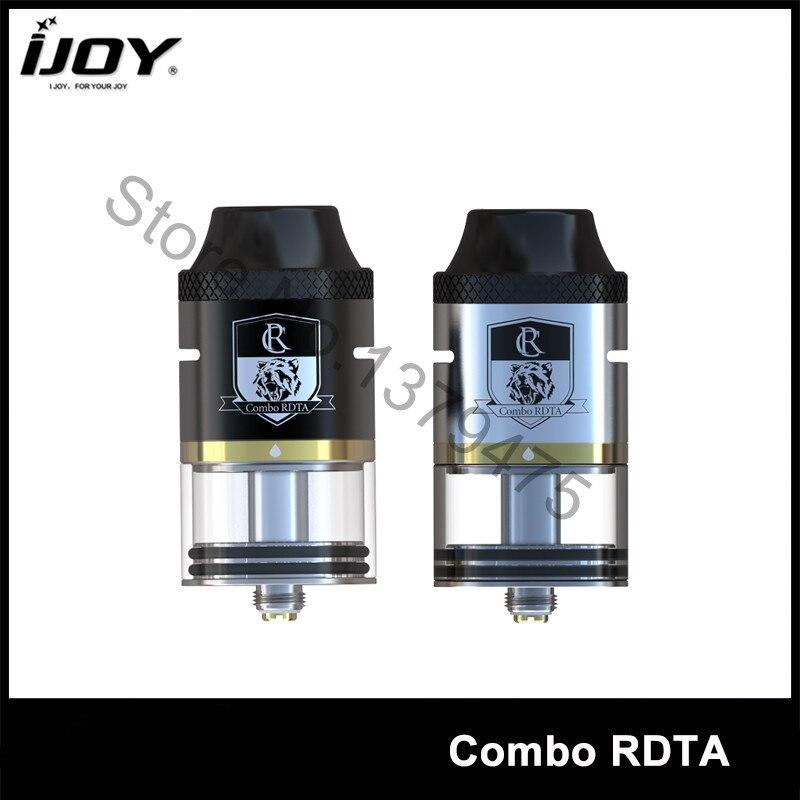 100% Authentic iJoy Combo RDTA RDA RTA Sub Ohm Tank 6.5ML Capacity E-cigs Atomizer  Ijoy Tank  VS Limitless RDTA 1Pcs/Lot