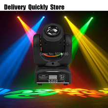 Mini Dj Led disco Moving Head 30W images effect light good Use for Home entertainment party KTV Night Club Dance stage