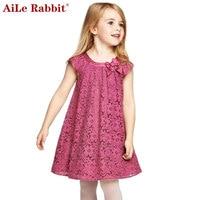 LOWEST PRICE Baby Kids Girl Lace Flower Heart Tutu Dress Ruffle Demin One Piece Dress 0
