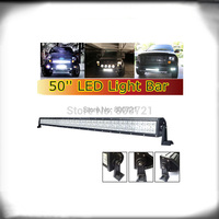 1 pc double row offroad Epistar 50 288W led light bar with side brackets for trucks