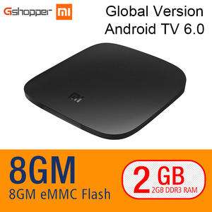 Xiaomi MI BOX Google TV BOX 4 K Quad Core 3 Android 6.0 2G/8G Smart HDR Movie