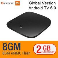 Original Xiaomi MI TV BOX 3 Android 6 0 2 8G Smart 4K Quad Core HDR