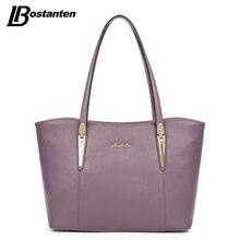 BOSTANTEN Large Tote Bag Real Genuine Leather Bags Women 2017 Famous Brand Ladies Handbag Designer Causal