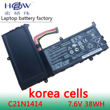 цена 7.6V 4840mah/38Wh Original Laptop Battery C21N1414 For ASUS EeeBook X205T X205TA X205TA-BING-FD015B