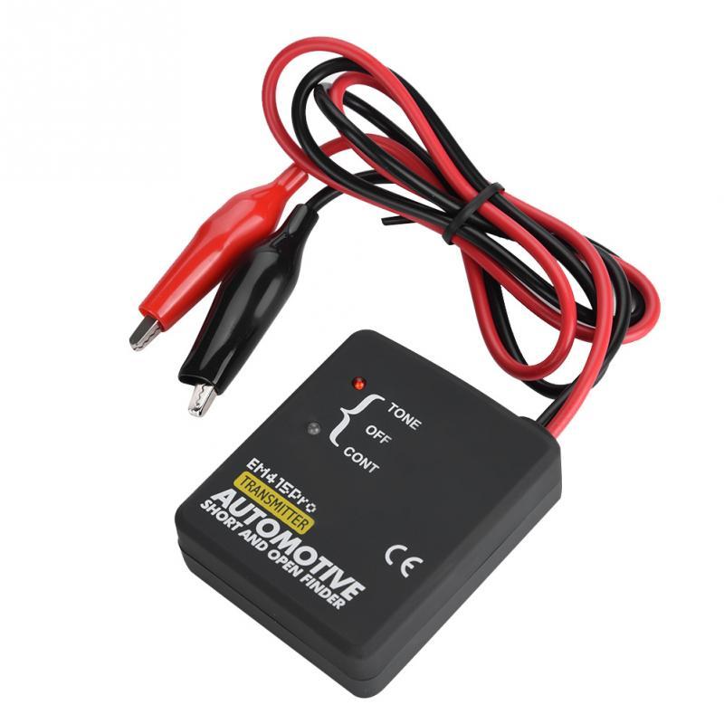 1 set Automobile Finder EM415PRO DC 6-42 v Ouvert Court-Circuit Finder Testeur Câble Fil Tracker Voiture De Réparation nouvel outil Arrivée