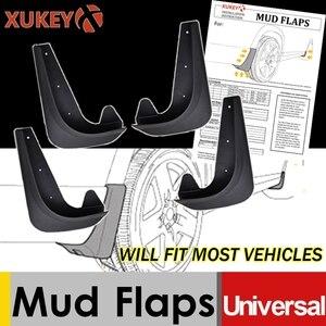 Universal Mudflaps Mud Flaps Flap Splash Guards Mudguards Car Auto Van SUV Trucks Sedan Wheel Fender Front Rear