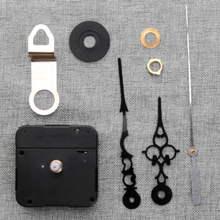 Continuous Sweep Quartz Clock Movement Kit For DIY Replacement Repair Parts Watch Wall