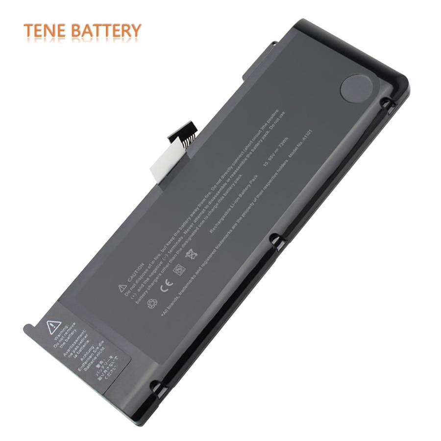 Pour Apple Macbook A1321 batterie 6700 mAh 73Wh remplacement ordinateur portable Bateria A1321 pour Macbook Pro 15