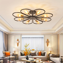 Nordic LED living room Ceiling lamps restaurant illumination American retro fixtures loft  Bar lights