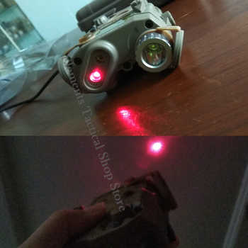 Element Airsoft Tactical Light PEQ 15 IR laser Gun Flashlight Red Laser PEQ15 Hunting Lamp PEQ-15 Weapons Light Softair EX276