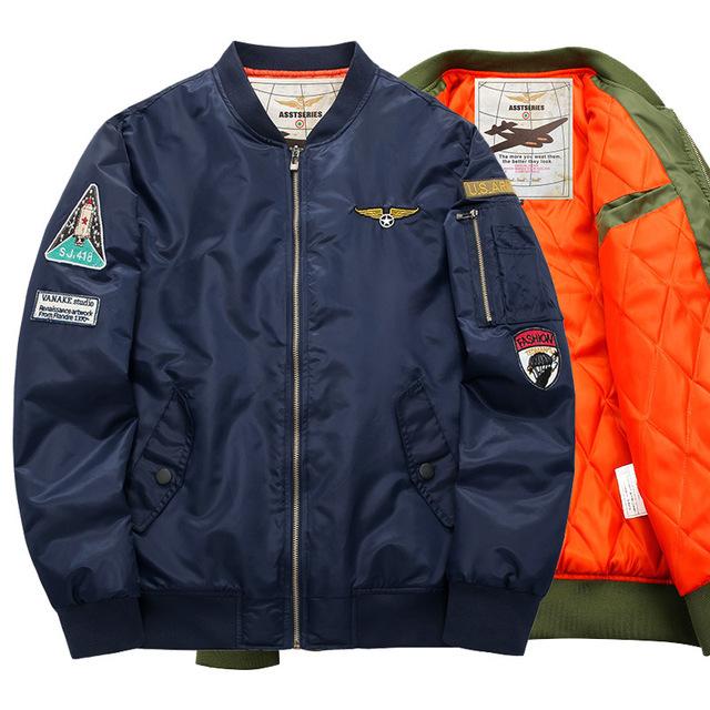 Jaqueta de homens DO EXÉRCITO DOS EUA homens jaqueta bomber jacket Outwear Inverno Parka homens Jaqueta De Beisebol Dos Homens Plus Size 4XL 5XL 6XL GM68
