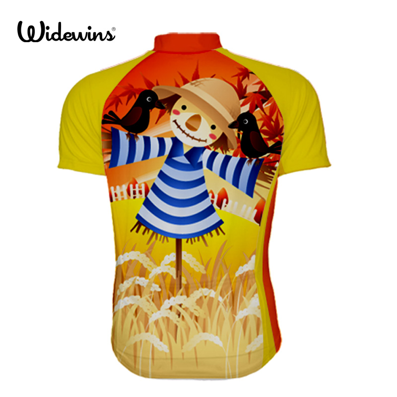 Japan Field Scarecrow 2018 Mens Summer Short Sleeve Cycling Jersey Off Road City MTB Bike Bicycle Shirt Sportswear 5715