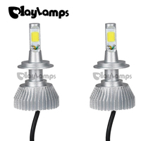 Playlamps 4x H7 Led Light COB LED Headlight Fog Lamp Car Bulb Beam Bulb For 30W