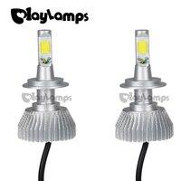 Playlamps 4x H7 Led Light COB LED Headlight Fog Lamp Car Bulb Beam Bulb For 30W