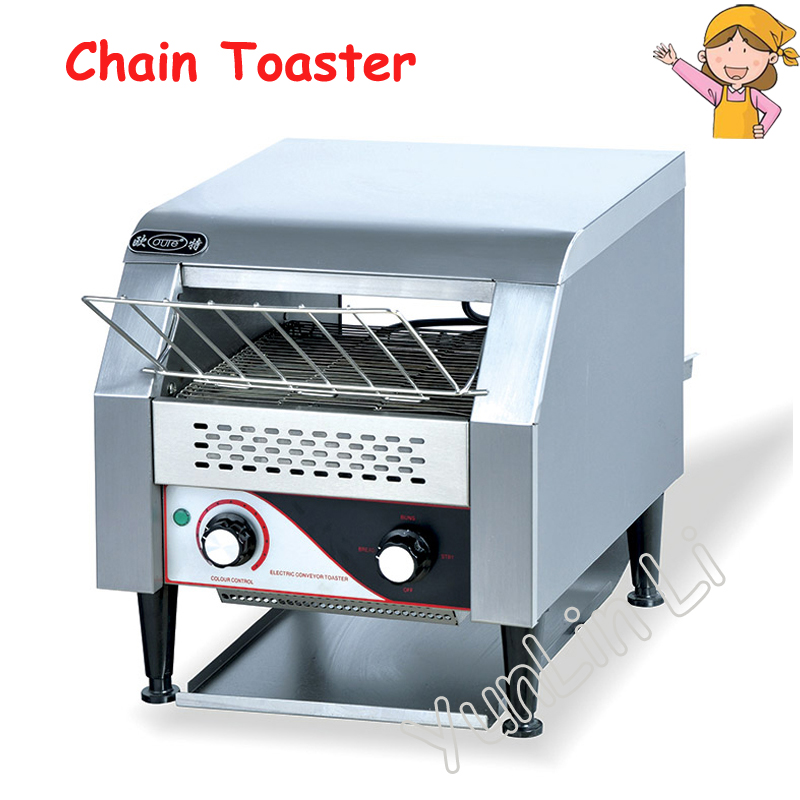 Commercial Chain Toaster Food Processing Machine Kitchen Utensils Oven Baking Oven 1.34KW Toaster Oven TDL-150 недорго, оригинальная цена