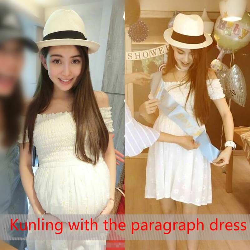 c027b55600e1e 2017 Kunling with maternity dress summer coat dress loose summer cotton  fashion mother pregnant woman skirt-in Dresses from Mother & Kids on  Aliexpress.com ...