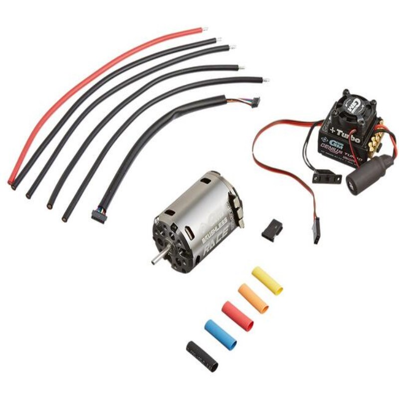 Graupner GM-GENIUS Turbo 120R/GM RACE 540 3.5 T Sensored Brushless Motor and ESC Combo
