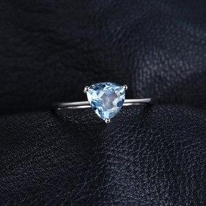 Image 2 - JewelryPalaceของแท้Blue TopazแหวนSolitaire 925 เงินสเตอร์ลิงแหวนแหวนหมั้นแหวนเงิน 925 เครื่องประดับอัญมณี