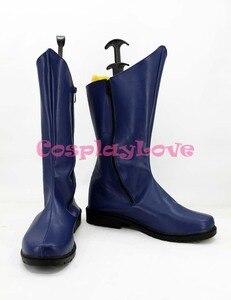 Image 3 - Zapatos de Cosplay de Batman de la película americana, Botas Largas, para Halloween