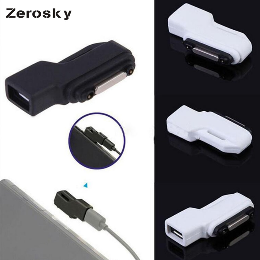 Micro Usb Naar Magnetic Charger Adapter Converter Voor Sony Xperia Z3 Z1 Z2 Compact Xl39 Universele Lader Connector Usb Type Tekorten