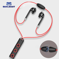 Sports Bluetooth Earphone Magnet Wireless Headset With Mic Bass Earphones Earbuds HiFi In Ear Earpiece For