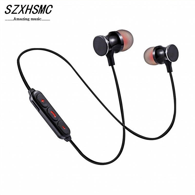 Consumer Electronics Punctual Wireless Wired Dual-use Bluetooth Headset Earphone Wireless Headphones With Mic For Galaxy Note 8 Xiaomi Hua Wei Keep You Fit All The Time Bluetooth Earphones & Headphones