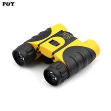 Buy online Original Piao Yu 8X25 Optics Zoom Binoculars High Power Telescope Outdoor Spotting Scope Kids Toy Fun For Children