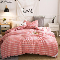 LeRadore Washable Cotton Thicken Duvet Polyester Comforter Quilt Queen King Full Size Blanket Bedding Filler Couette