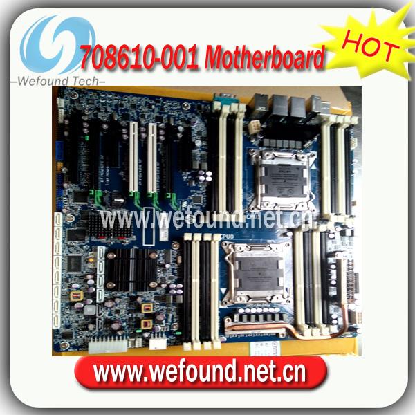 Hot! Server motherboard mainboard 708610-001 618266-003 618266-004 For HP Z820 LGA2011 <font><b>C602</b></font> image