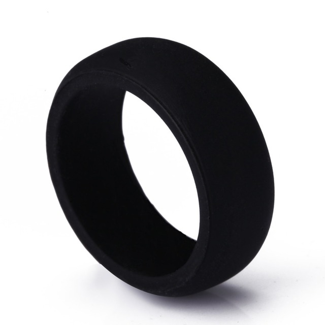 Flexible Hypoallergenic Crossfit Silicone Wedding Rings for Women