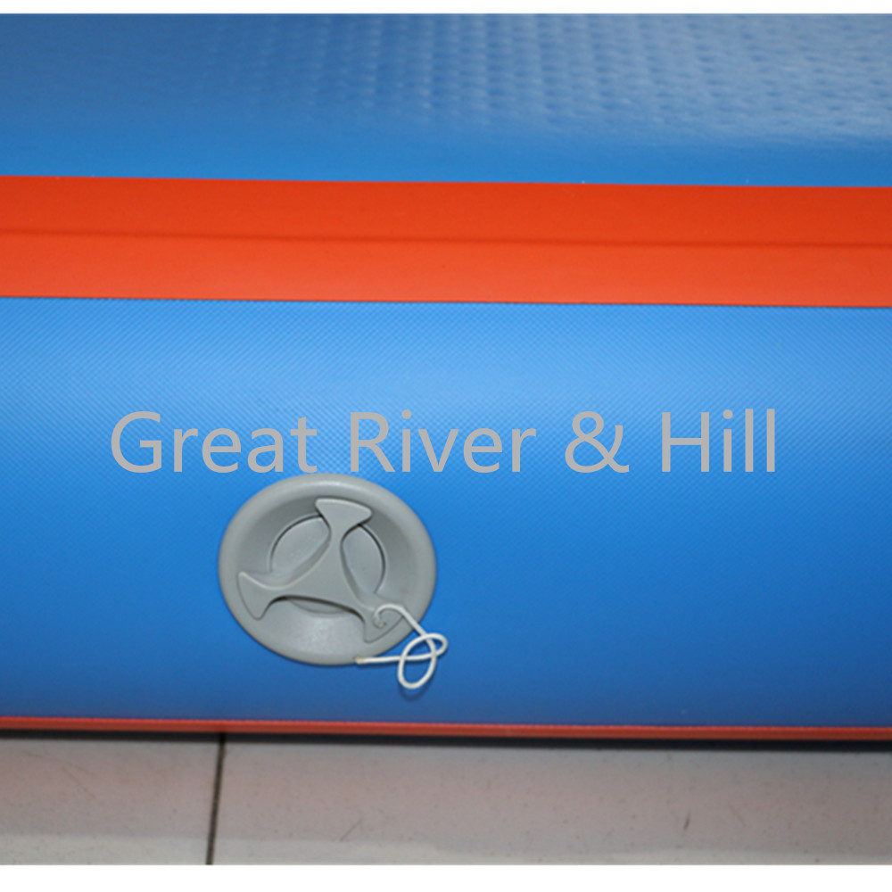 Great river & hill training mats air track good quality with fedex shipping and tax include free pump 15m x2m x20cm