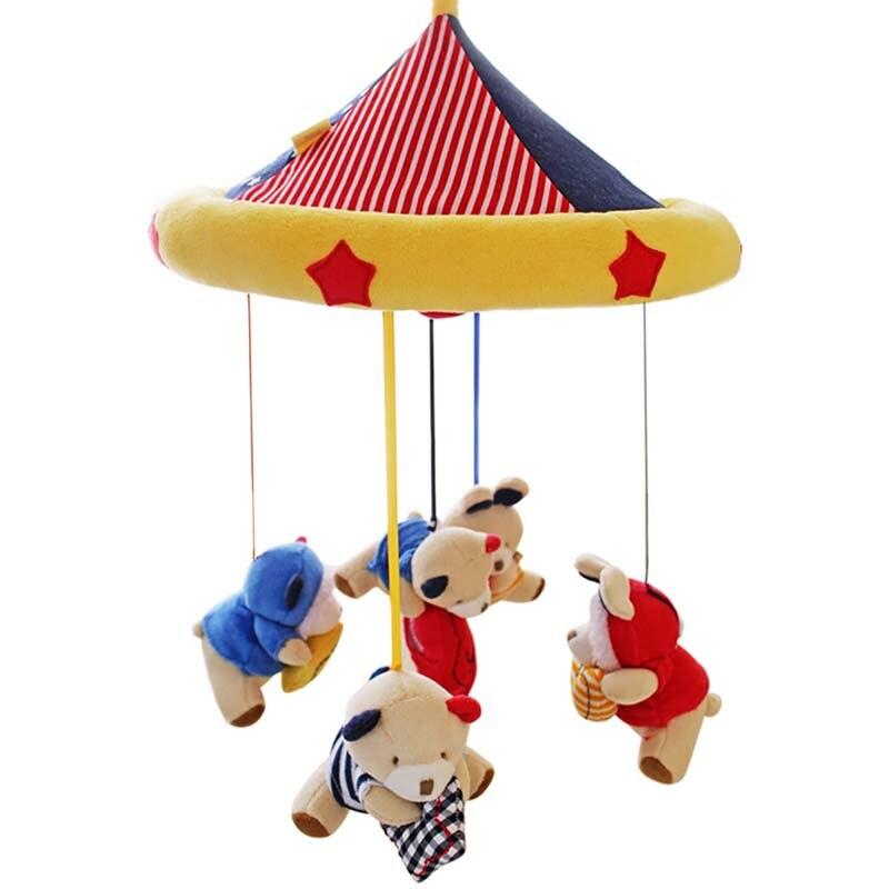 SHILOH Երաժշտական Բջջային օրորոց - Խաղալիքներ նորածինների համար - Լուսանկար 3