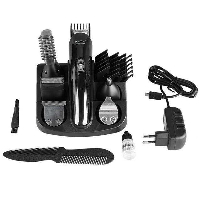 Kemei KM-600 juego de herramientas de corte de pelo eléctrico inalámbrico  cortadora de pelo a61a254081f1